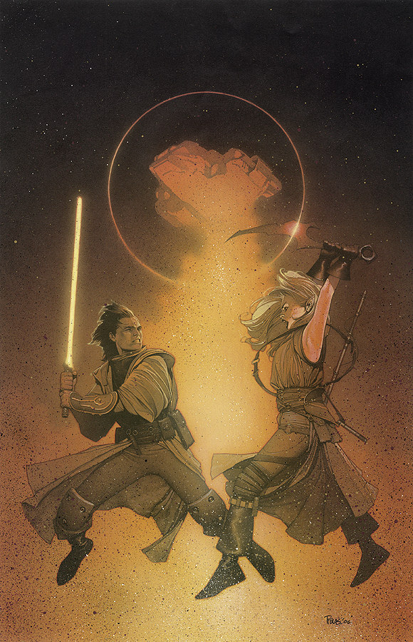 Cover to Star Wars: Knights of the Old Republic #3 by Travis Charest