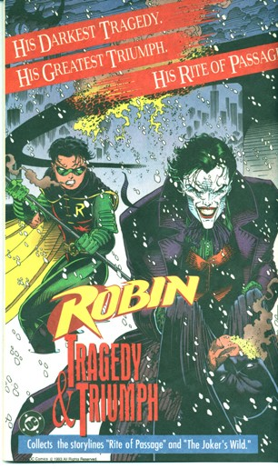 Cover from Robin TPB