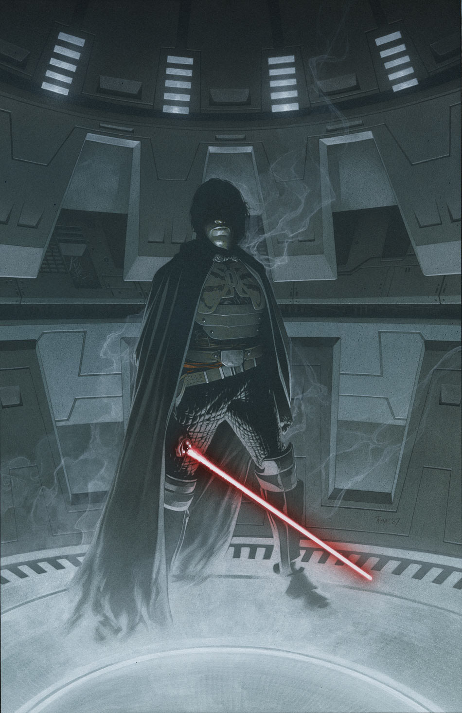 Cover to Star Wars Legacy #17 by Travis Charest