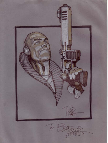 Metabaron Sketch 3