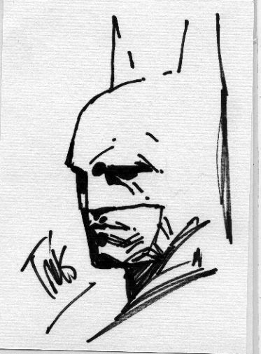 Batman Convention Sketch