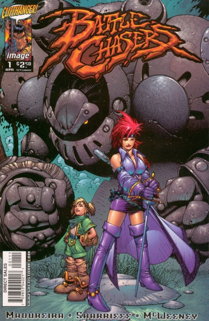 Battle Chasers #1 Alt Cover High Res