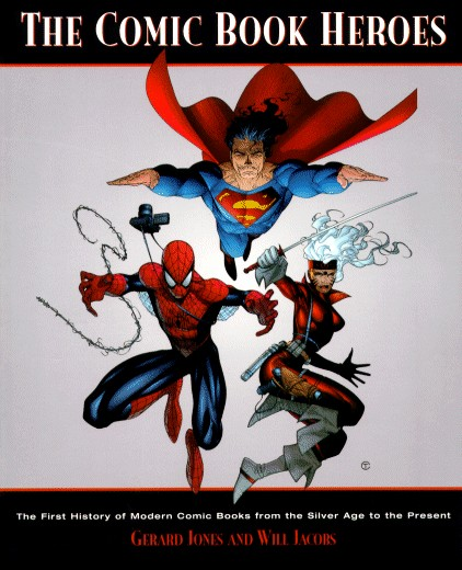 Cover to book Comicbook Heros