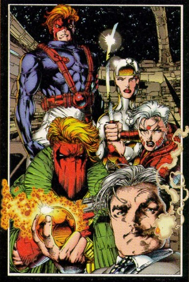 Travis's first work for Wildstorm