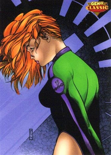 Katlin from Gen13 Classic trading card