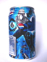 Pepsi-Man can from Japan