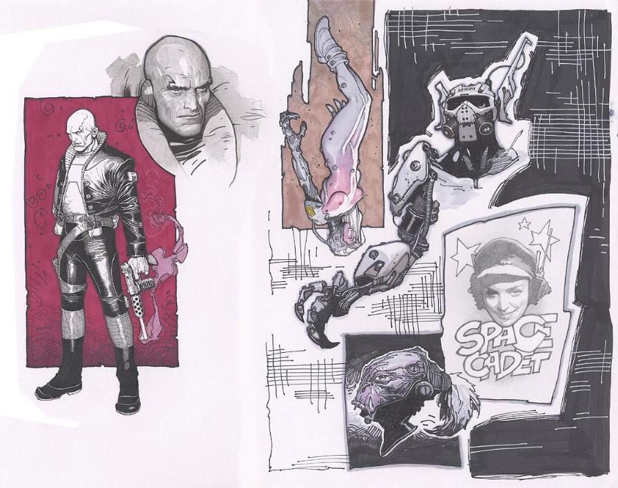 Metabarons Sketches