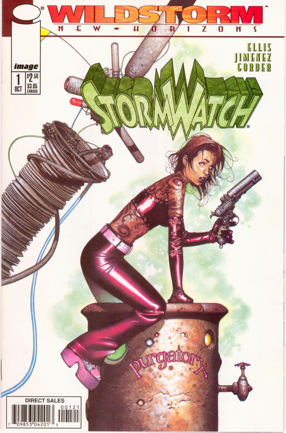 HIgh Res cover From Stormwatch #1 Vol 2