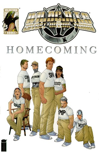 Cover to Homecoming TPB