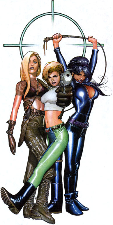 Alt cover to Danger Girl #1