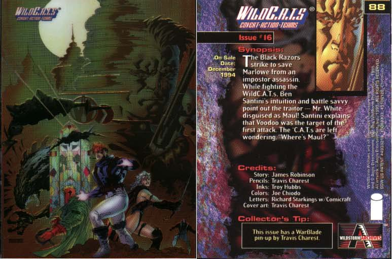 WildC.A.T.s Card Issue #16