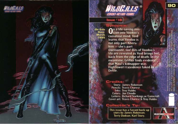 WildC.A.T.s Card Issue #18