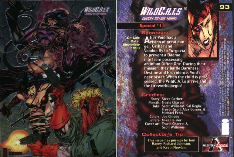 WildC.A.T.s Card Special #1